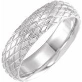 Rhombus Patterned Band