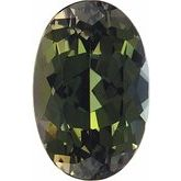 Oval Genuine Green Tanzanite (Notable Gems™ Matched Sets)