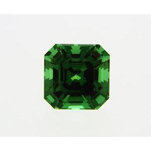 Garnet Asscher 0.79 carat Green Photo