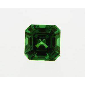 Garnet Asscher 0.66 carat Green Photo