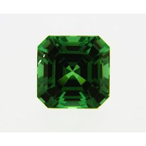 Garnet Asscher 0.37 carat Green Photo