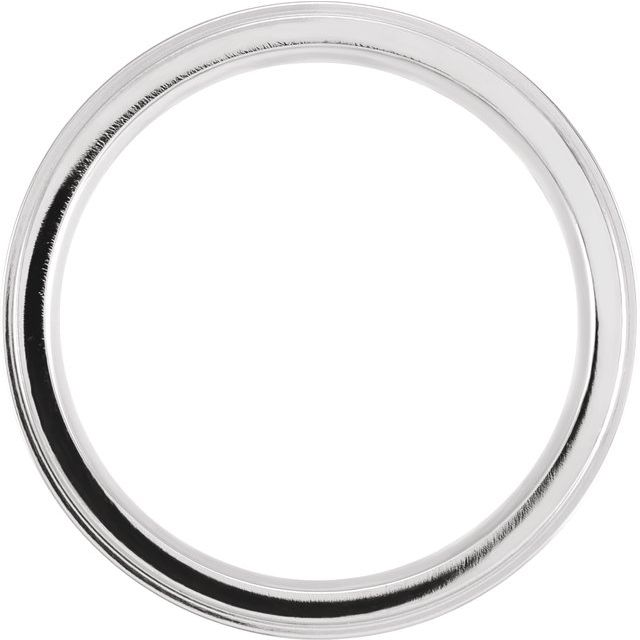 Cobalt 6 mm Grooved Flat Edge Band Size 11