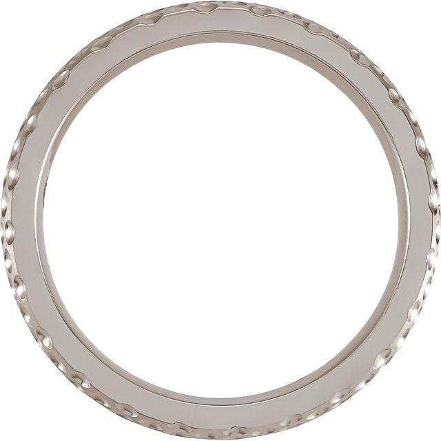 Cobalt 6 mm Patterned Band Size 12.5