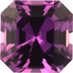 Sapphire Asscher 1.11 carat Pink Photo