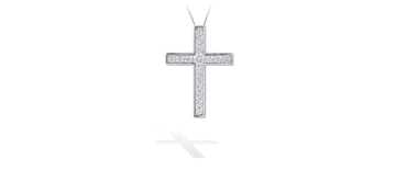 Diamond Cross Pendants