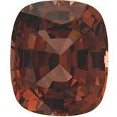 Antique Cushion Genuine Brown Garnet (Notable Gems™)