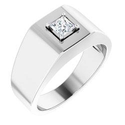 Men's Ring Mounting for Diamond