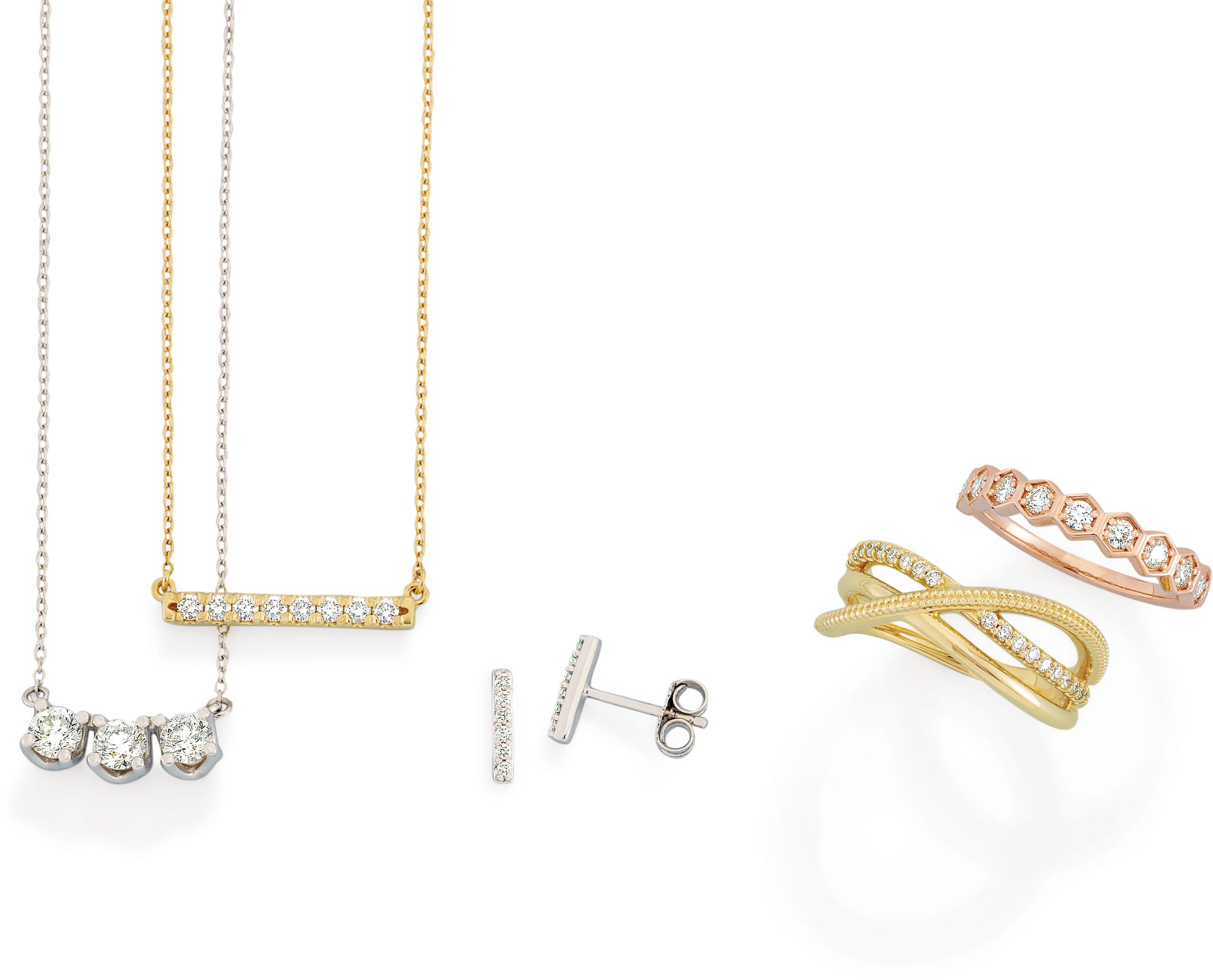 Modern Brilliance | Lab-grown diamond jewelry