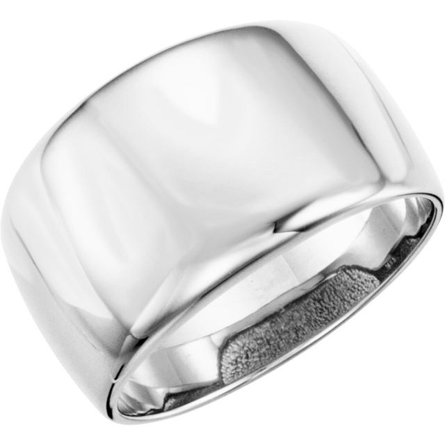 Continuum Sterling Silver Dome Ring