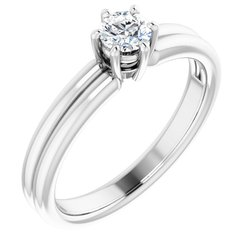 Zásnubný prsteň - neosadený