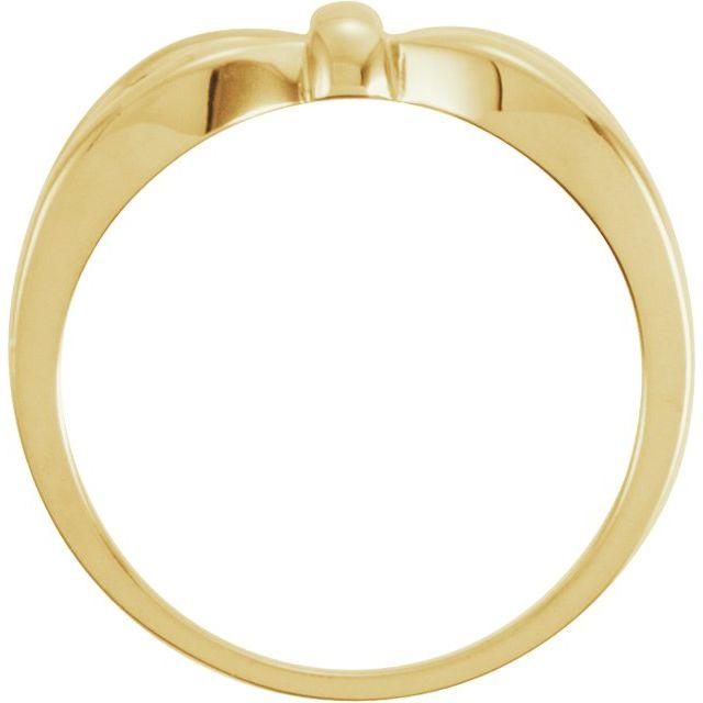 14K Yellow Remount Ring