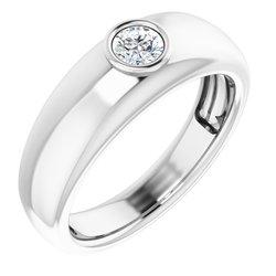 Pánsky prsteň na drahokam - neosadený