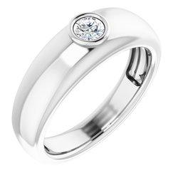 Men's Ring Mounting for Gemstone