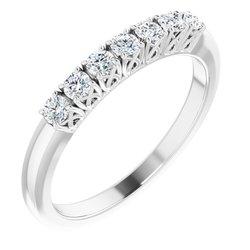 7-Stone Anniversary Ring