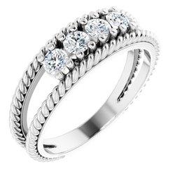 prsteň na mieru neosadený