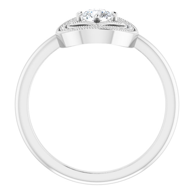 10K White Gold Diamond Ring (.50ctw)