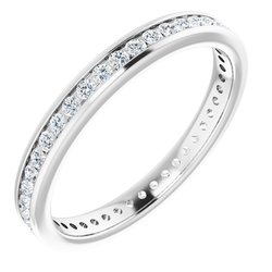 Svadobná Obrúčka alebo prsteň Eternity