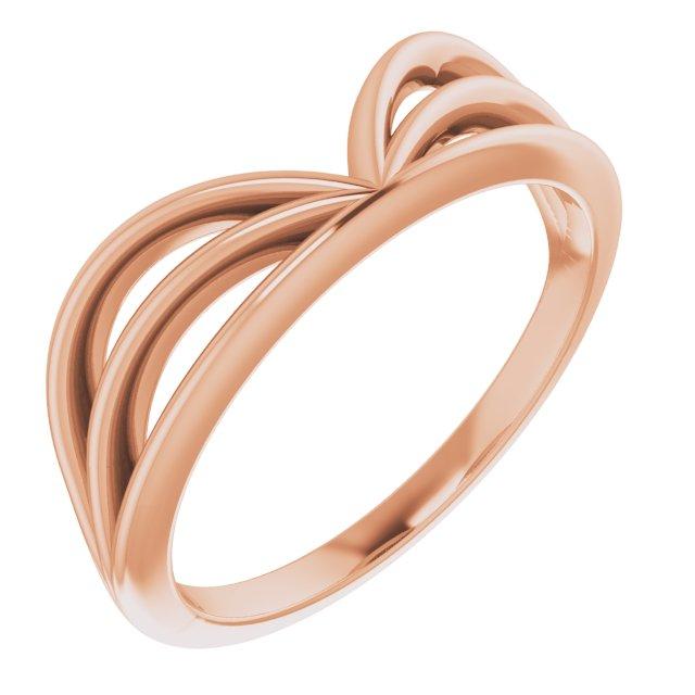14K Rose Crown Ring