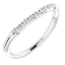 Floral-Inspired Engagement Ring or Band