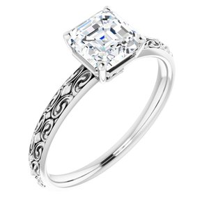 Solitaire Engraved - $903
