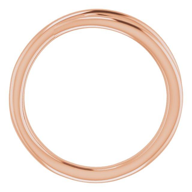 14K Rose Criss-Cross Ring