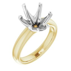 6-Prong Solitaire Engagement Ring