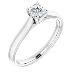 Zásnubný prsteň- Soliter neosadený