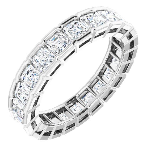 14K White 3 1/3 CTW Diamond Eternity Band