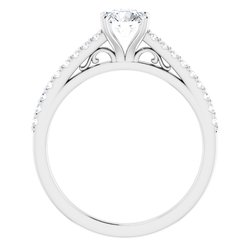 Cathedral-Style Engagement Ring
