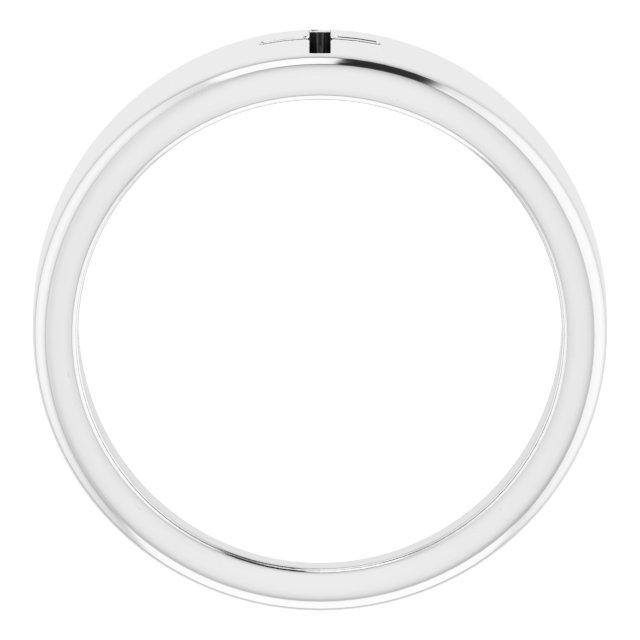 Sterling Silver Pierced Cross Ring