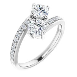 Two-Stone Engagement Ring