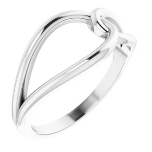 Sterling Silver Interlocking Circle Ring
