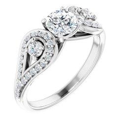 Zásnubný prsteň - Vintage štýl