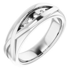 Five-Stone Channel-Set Ring