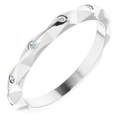 Stackable Anniversary Band