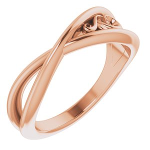 14K Rose Sculptural-Inspired  Ring