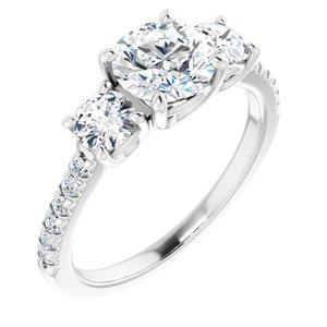 3-stone Classic - $3,668