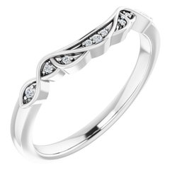 Celtic-Inspired Engagement Ring or Band