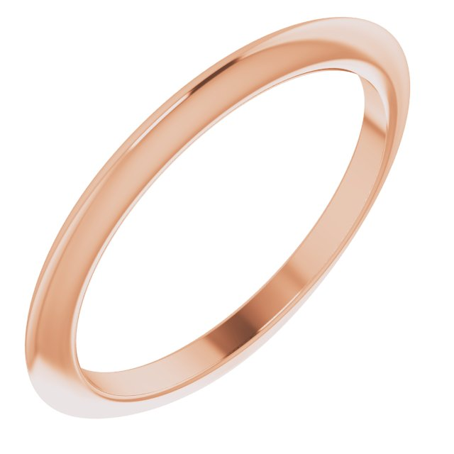 14K Rose Matching Band