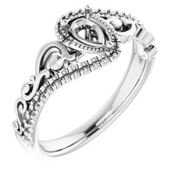 Sculptural Engagement Ring