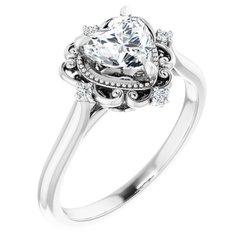 Vintage-Inspired Engagement Ring