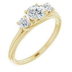 Three-Stone Engagement Ring alebo Band