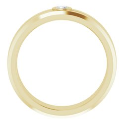 Bezel-Set Ring