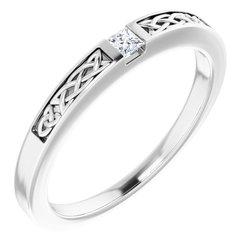 Men's Celtic-Inspired Ring