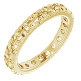 French-Set Eternity Band