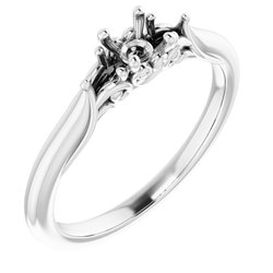 Three-Stone Engagement Ring