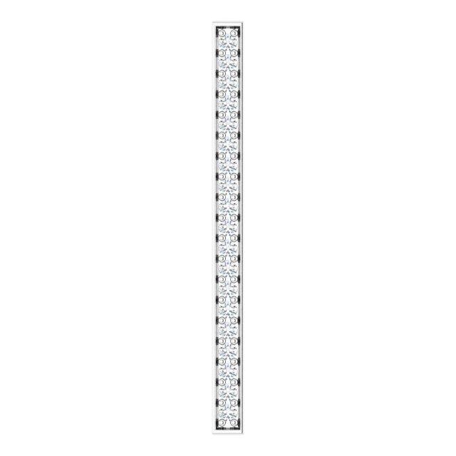 14K White 1/5 CTW Diamond Vertical Bar Pendant