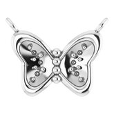 Butterfly Necklace or Center