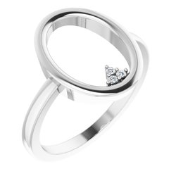 Open Circle Cluster Ring