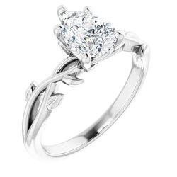 Zásnubný prsteň - kvetinový štýl